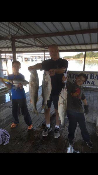 Big Fish Striper Fishing On Lake Texoma (13)
