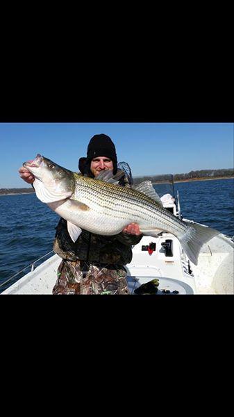 Big Fish Striper Fishing On Lake Texoma