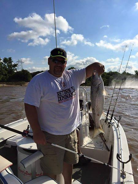 Big Fish Striper Fishing On Lake Texoma (3)