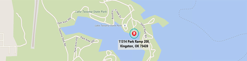 Lake texoma maps and directions reel fishing striper for Texoma fishing license
