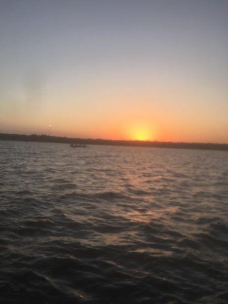 Reel Fishing Texoma Sunrise